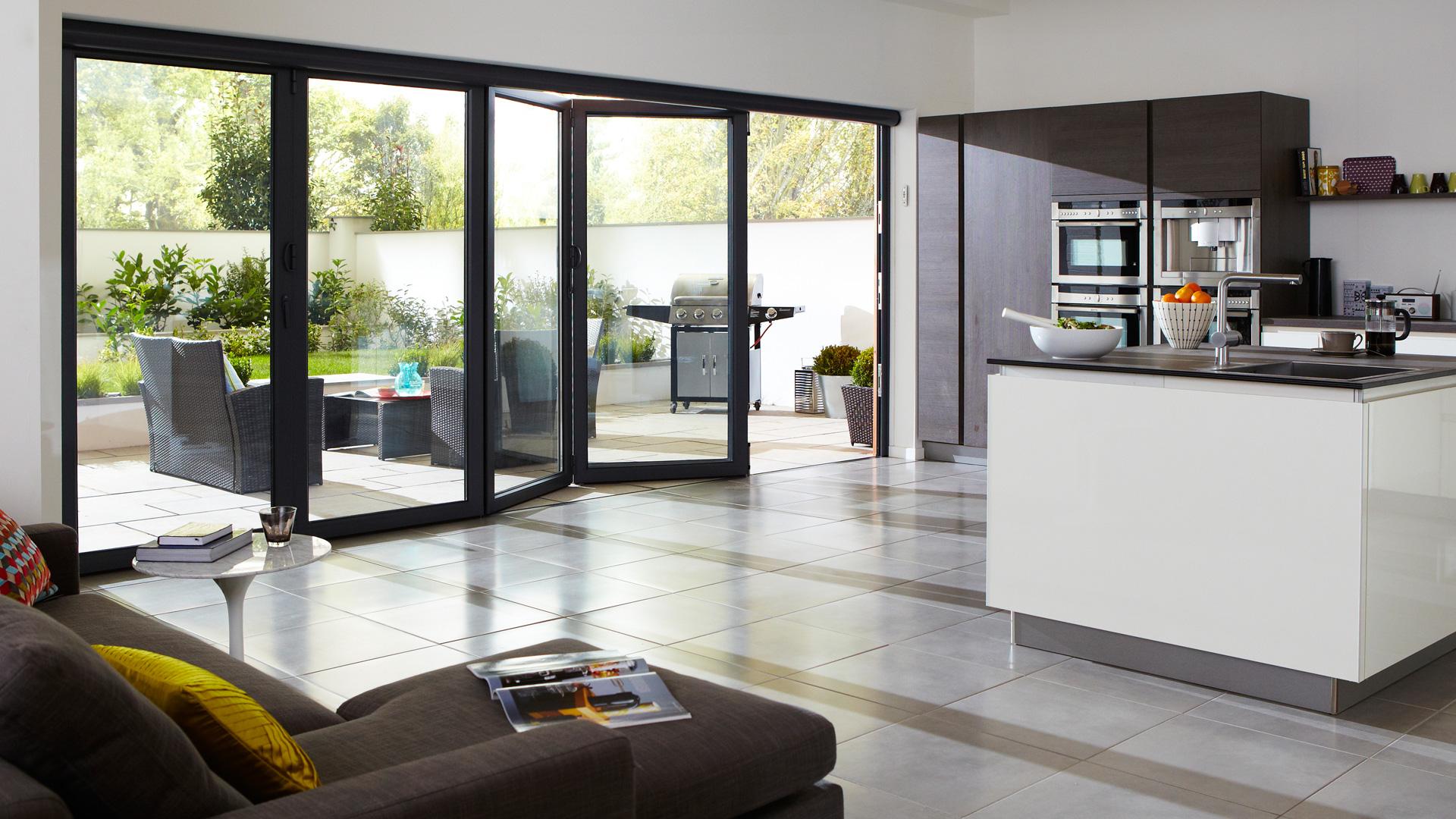 newest collection c1a1d 91e08 Folding Sliding Doors - Renka Bifold Doors